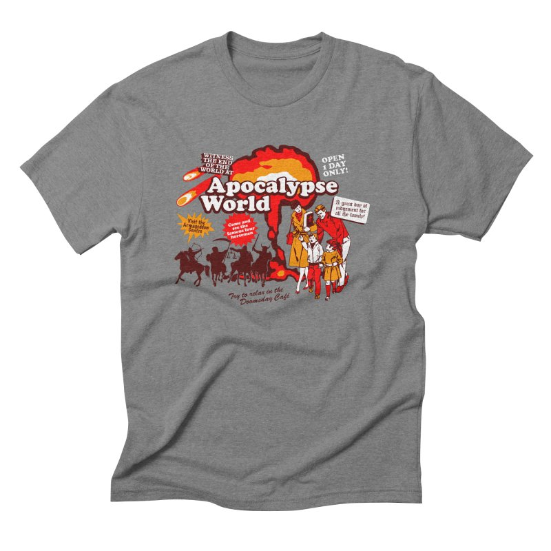 Apocalypse World Men's Triblend T-Shirt by Graham Dobson