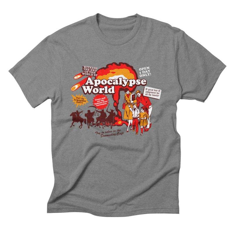 Apocalypse World Men's Triblend T-shirt by Graham Dobson