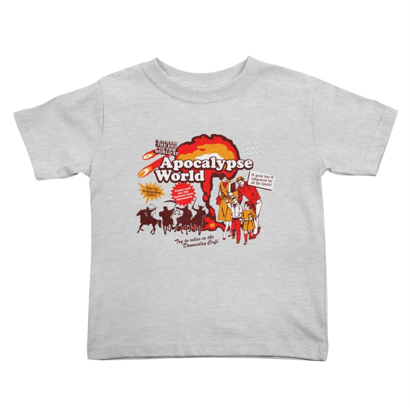 Apocalypse World Kids Toddler T-Shirt by Graham Dobson