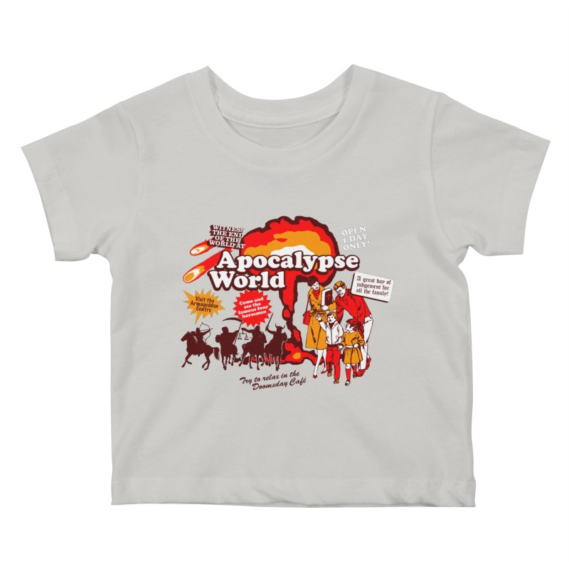 Apocalypse World Kids Baby T-Shirt by Graham Dobson