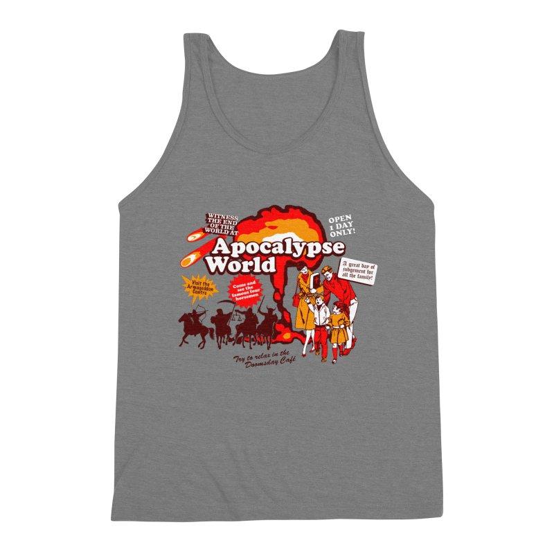 Apocalypse World Men's Triblend Tank by Graham Dobson