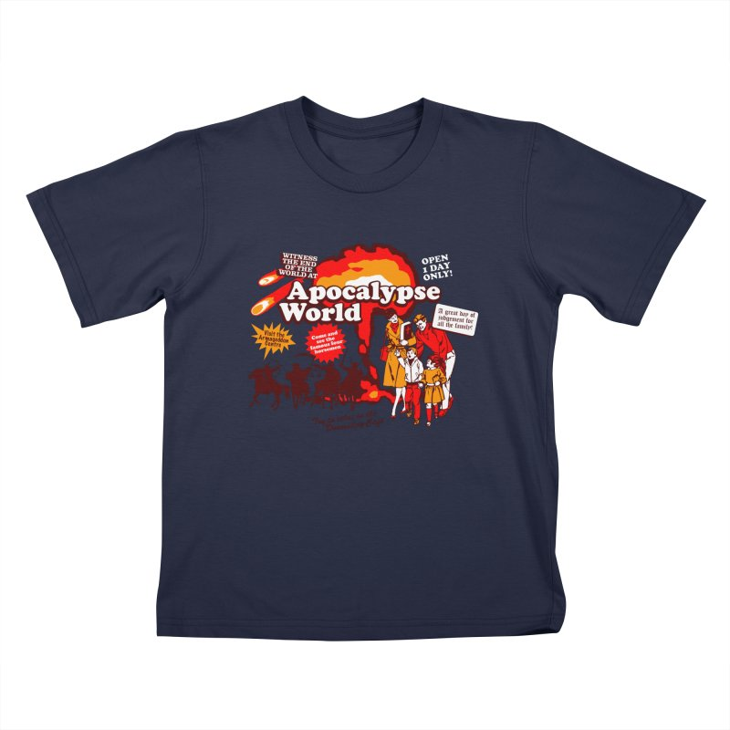 Apocalypse World Kids T-Shirt by Graham Dobson