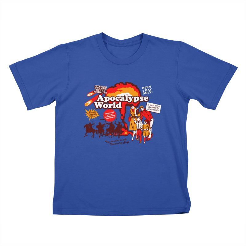 Apocalypse World Kids T-Shirt by Graham Dobson