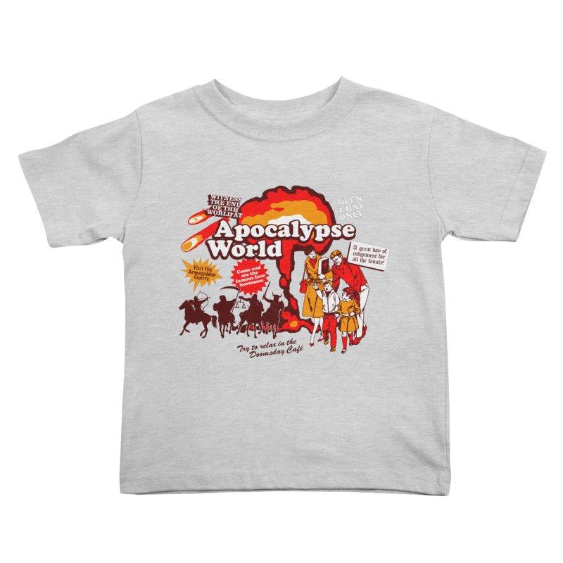 Apocalypse World Kids Toddler T-Shirt by Graham Dobson
