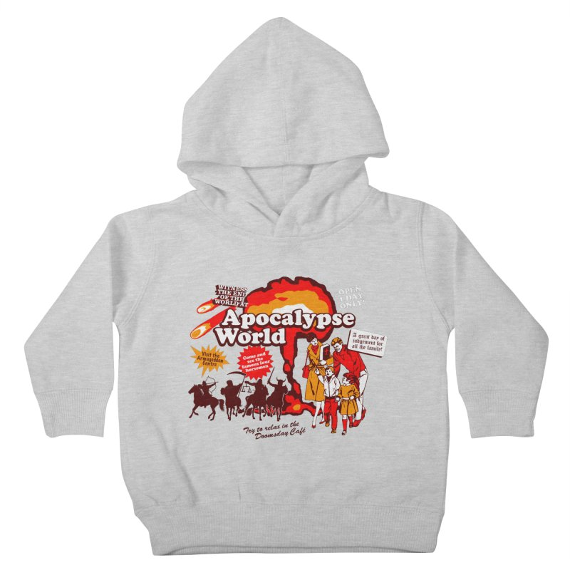 Apocalypse World Kids Toddler Pullover Hoody by Graham Dobson
