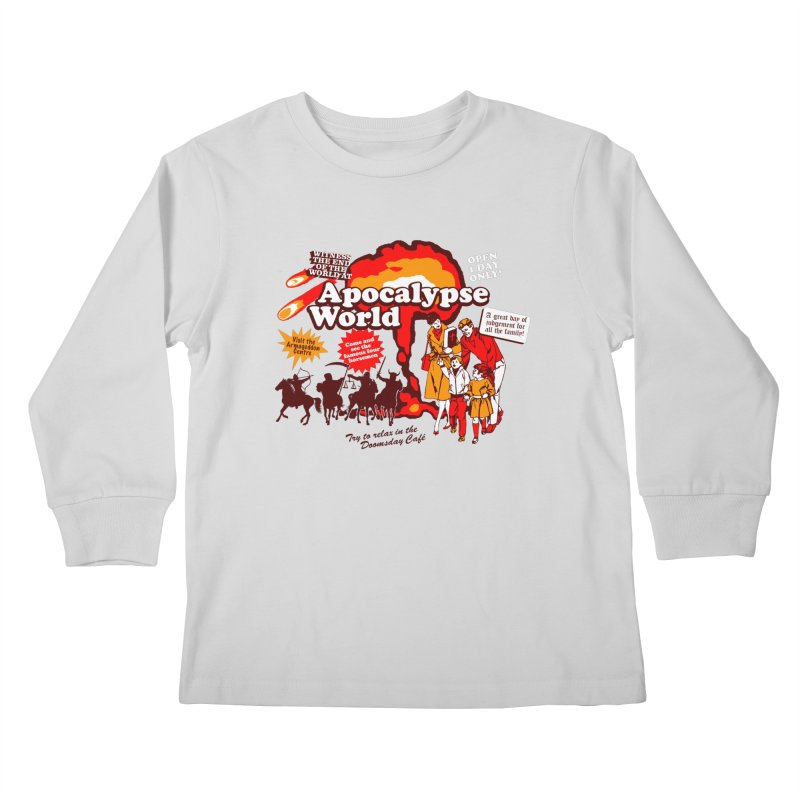 Apocalypse World Kids Longsleeve T-Shirt by Graham Dobson
