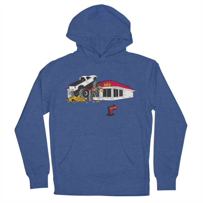 Drive Thru Men's Pullover Hoody by Graham Dobson