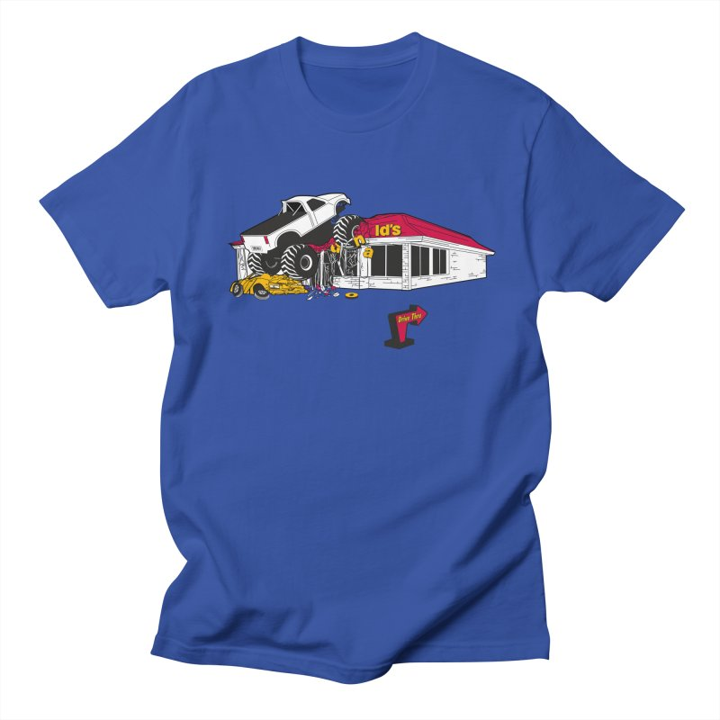 Drive Thru Men's T-Shirt by Graham Dobson