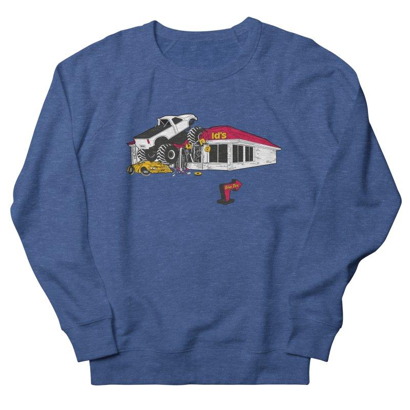 Drive Thru Women's French Terry Sweatshirt by Graham Dobson