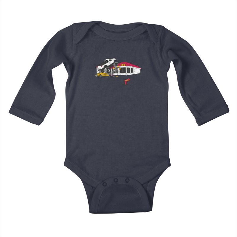 Drive Thru Kids Baby Longsleeve Bodysuit by Graham Dobson