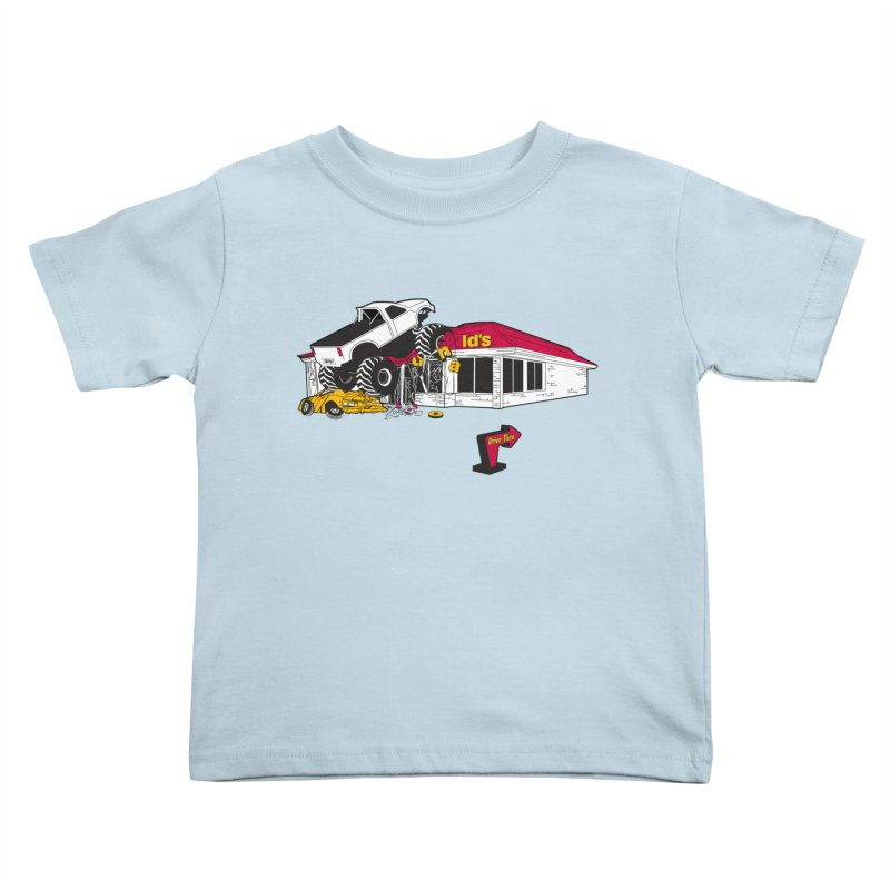 Drive Thru Kids Toddler T-Shirt by Graham Dobson