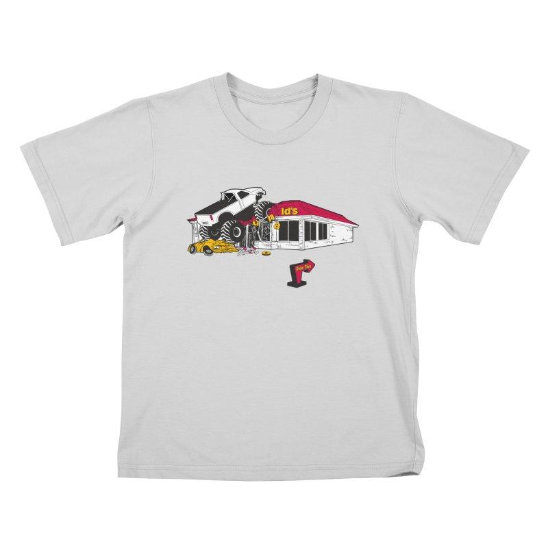 Drive Thru Kids T-Shirt by Graham Dobson