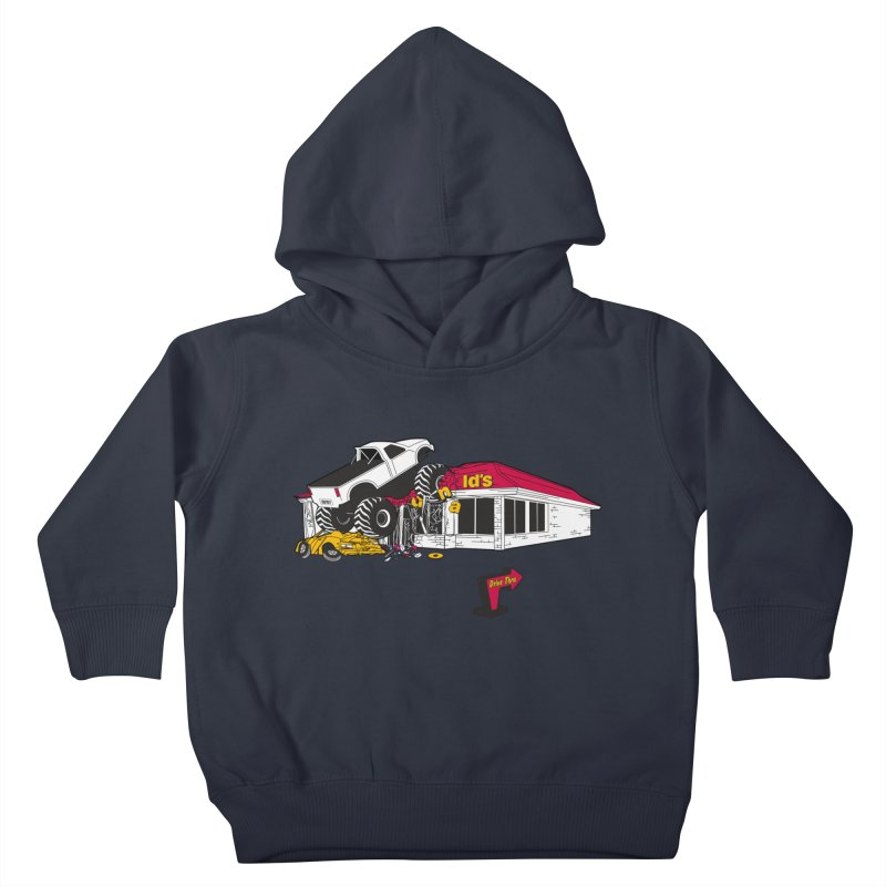Drive Thru Kids Toddler Pullover Hoody by Graham Dobson