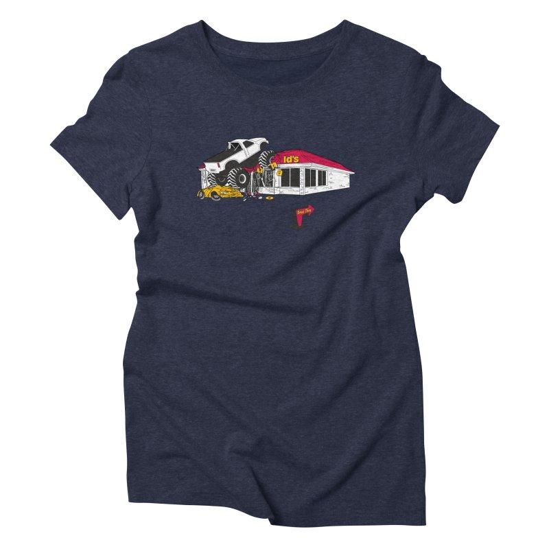 Drive Thru Women's Triblend T-Shirt by Graham Dobson