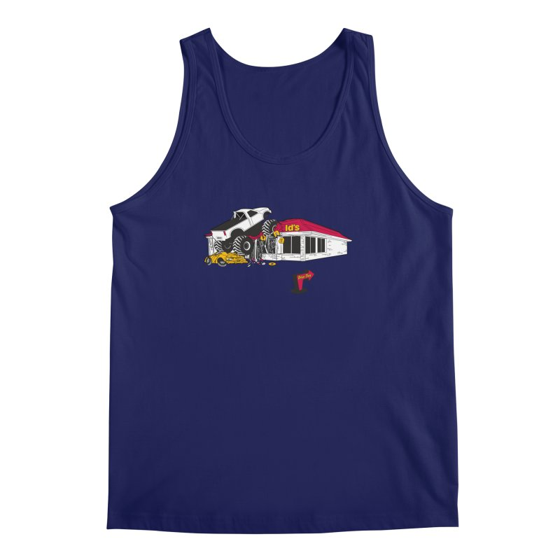 Drive Thru Men's Regular Tank by Graham Dobson