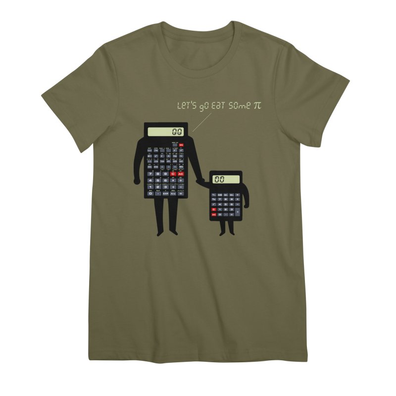 Let's go eat some pi Women's Premium T-Shirt by Graham Dobson