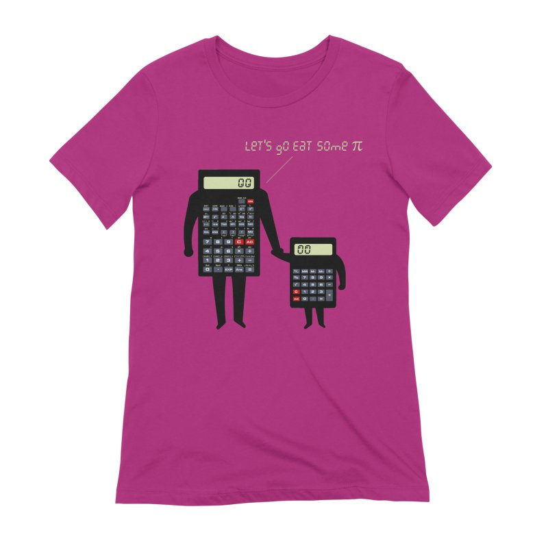 Let's go eat some pi Women's Extra Soft T-Shirt by Graham Dobson