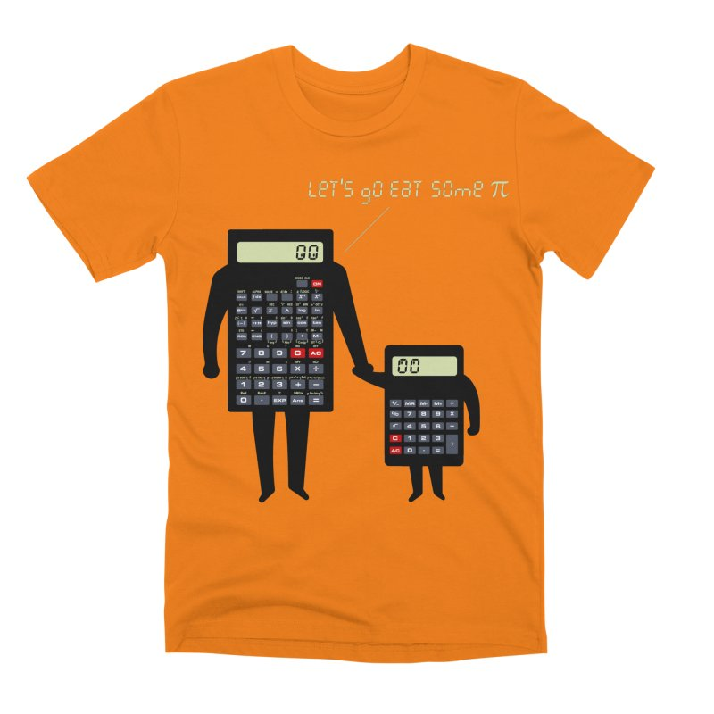 Let's go eat some pi Men's Premium T-Shirt by Graham Dobson