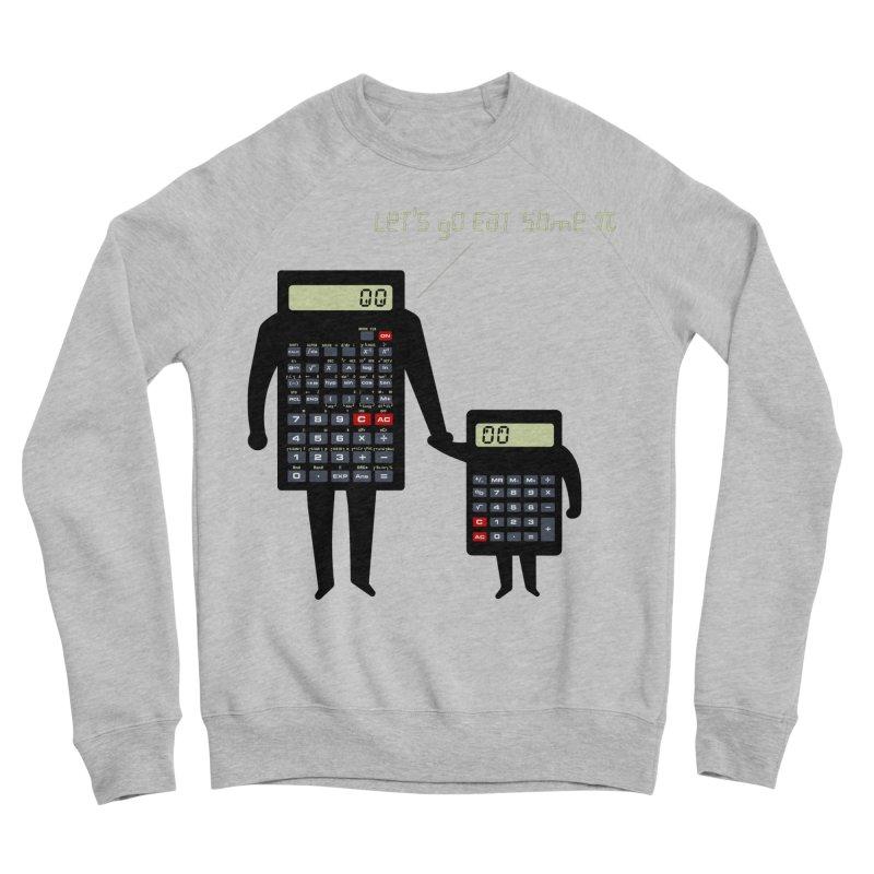 Let's go eat some pi Men's Sponge Fleece Sweatshirt by Graham Dobson