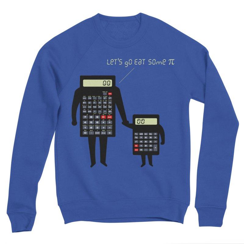Let's go eat some pi Women's Sponge Fleece Sweatshirt by Graham Dobson