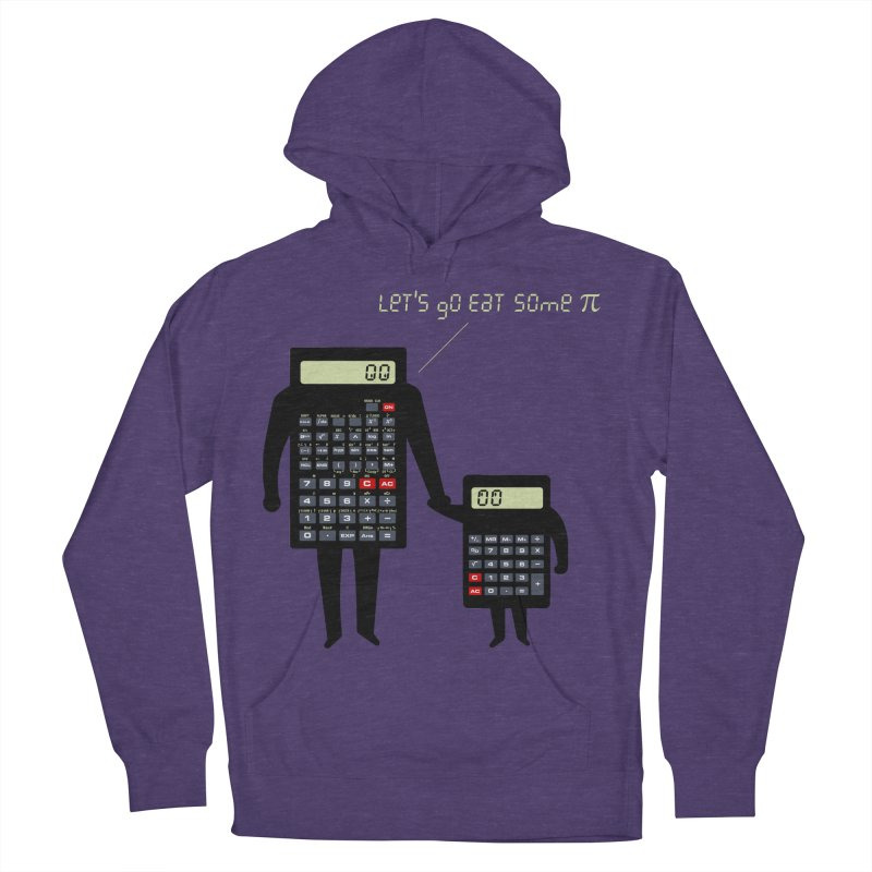 Let's go eat some pi Women's French Terry Pullover Hoody by Graham Dobson