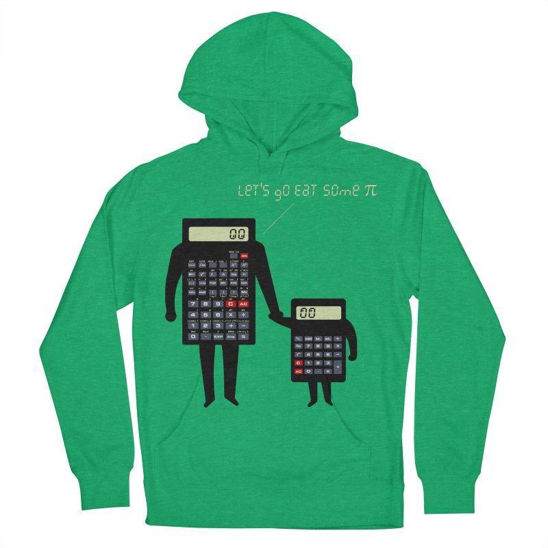 Let's go eat some pi Men's French Terry Pullover Hoody by Graham Dobson
