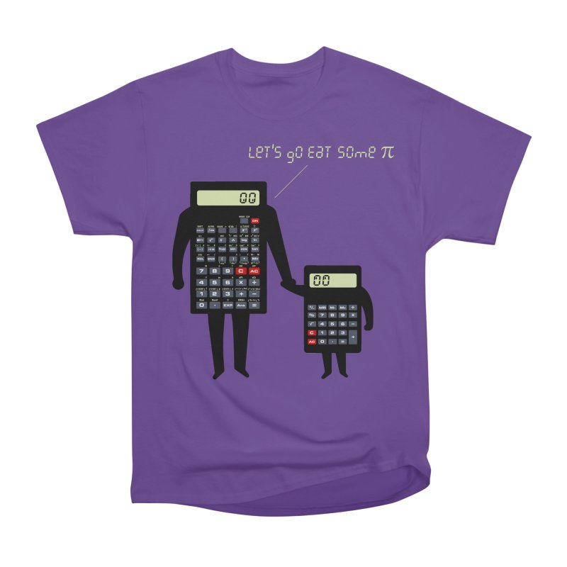 Let's go eat some pi Men's Heavyweight T-Shirt by Graham Dobson