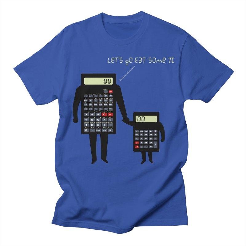 Let's go eat some pi Women's Regular Unisex T-Shirt by Graham Dobson
