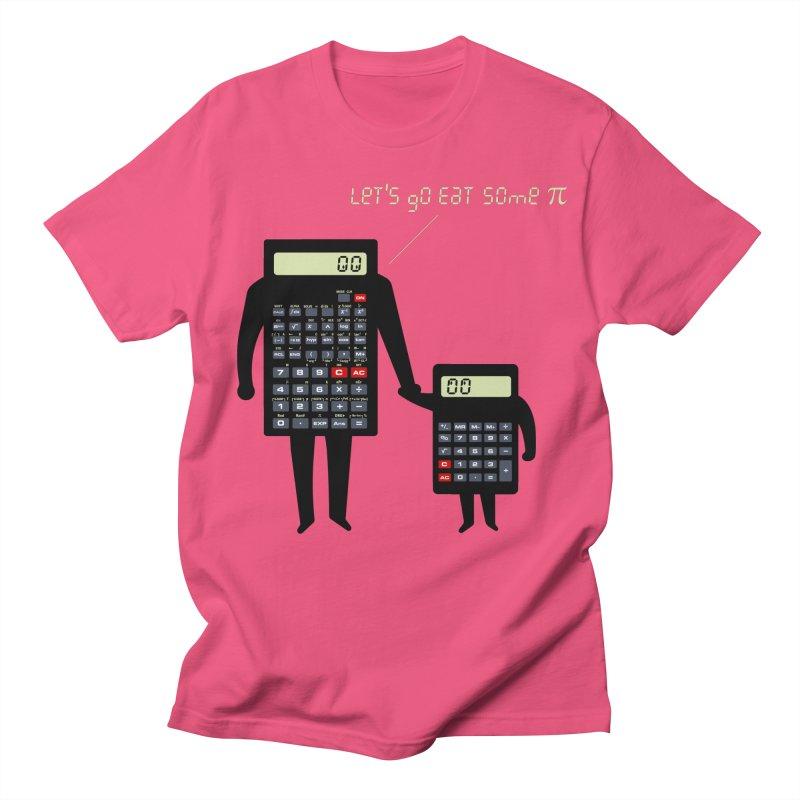 Let's go eat some pi Men's Regular T-Shirt by Graham Dobson