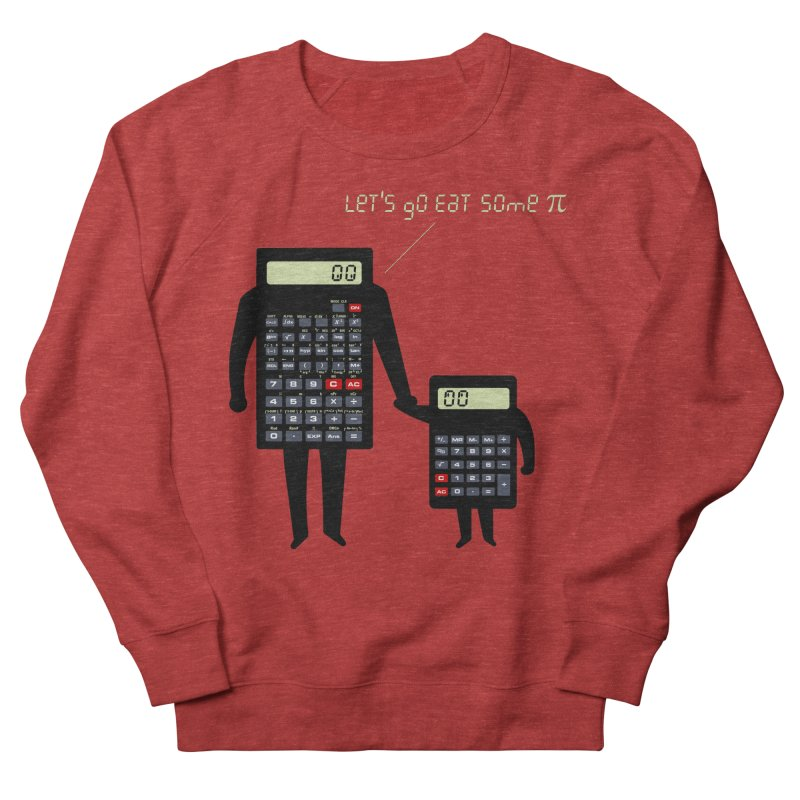 Let's go eat some pi Men's French Terry Sweatshirt by Graham Dobson