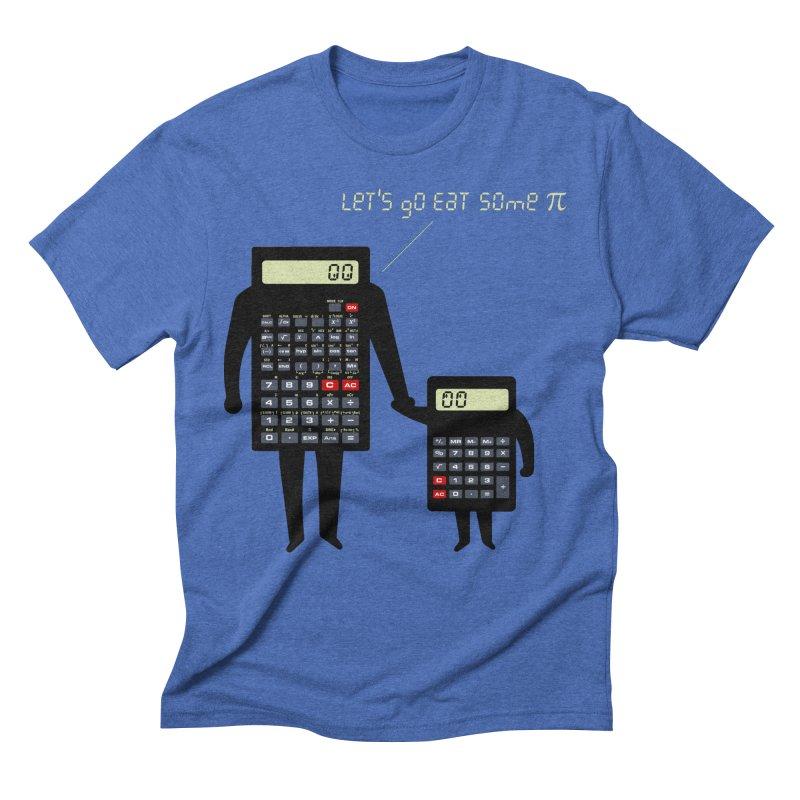 Let's go eat some pi Men's Triblend T-Shirt by Graham Dobson