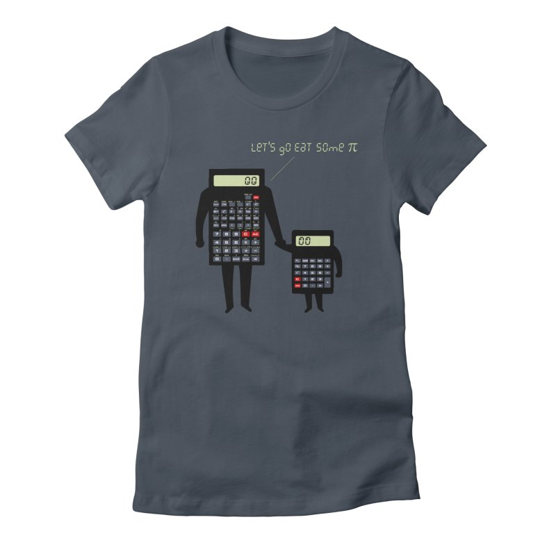 Let's go eat some pi Women's T-Shirt by Graham Dobson