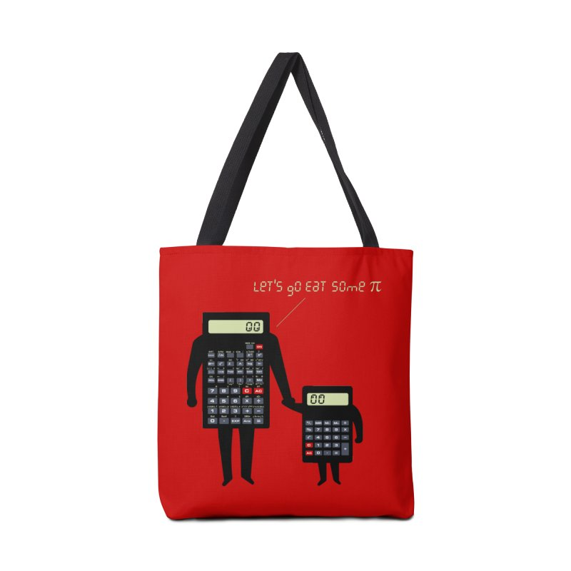 Let's go eat some pi Accessories Tote Bag Bag by Graham Dobson