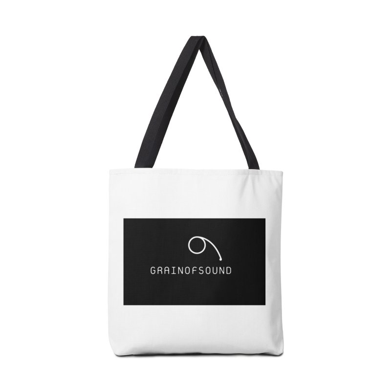 GOS logo Accessories Tote Bag Bag by Grain of Sound Merchandise
