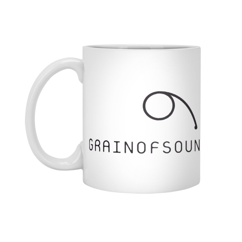 GOS white Accessories Standard Mug by Grain of Sound Merchandise