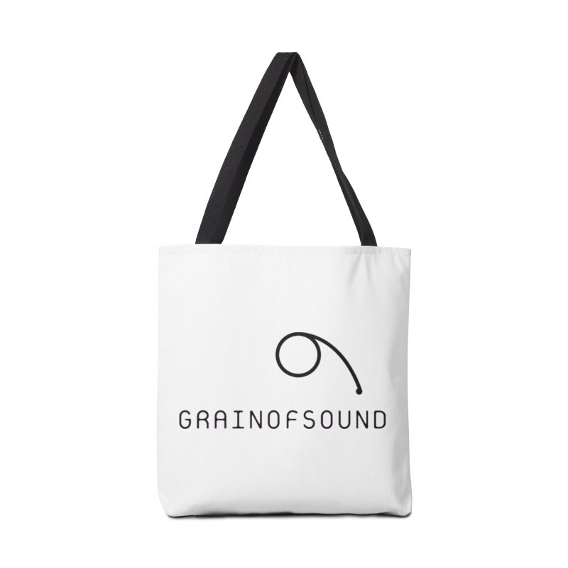 GOS white Accessories Bag by Grain of Sound Merchandise
