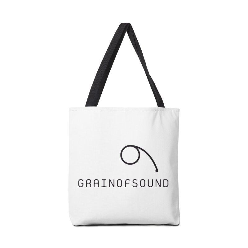 GOS white Accessories Bag by Grain of Sound Merchandise