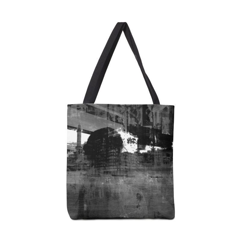 Cinza Accessories Tote Bag Bag by Grain of Sound Merchandise