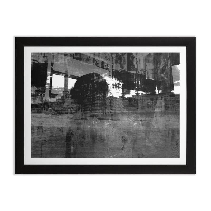 Cinza Home Framed Fine Art Print by Grain of Sound Merchandise