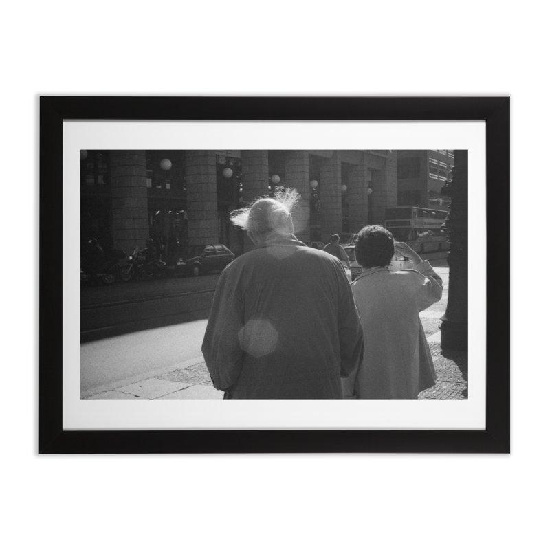 Photography for Stapletape's Soft Landing Home Framed Fine Art Print by Grain of Sound Merchandise
