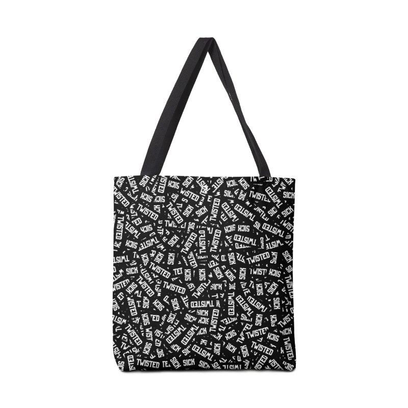 Sick & Twisted Accessories Tote Bag Bag by Grandio Design Artist Shop