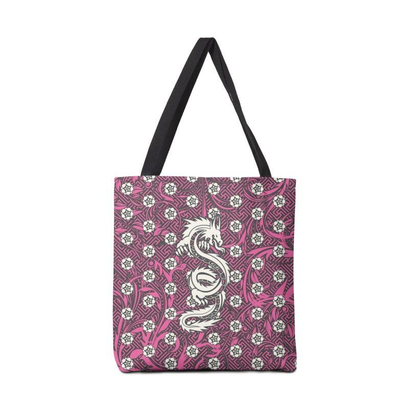 Hidden Dragon II Accessories Tote Bag Bag by Grandio Design Artist Shop