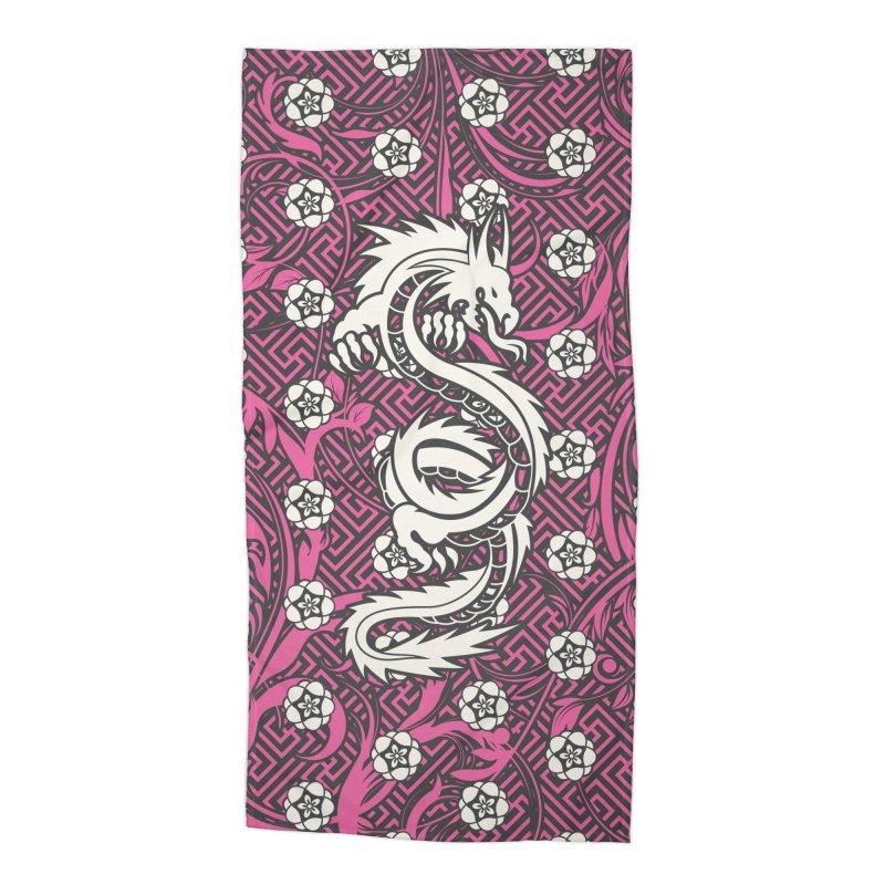 Hidden Dragon II Accessories Beach Towel by Grandio Design Artist Shop