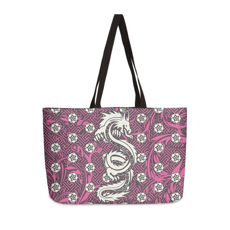 Hidden Dragon II Accessories Weekender Bag Bag by Grandio Design Artist Shop