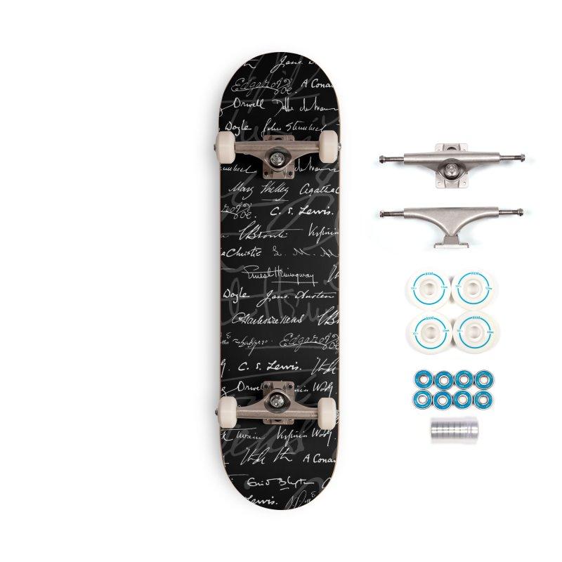Literary Giants Pattern Accessories Complete - Basic Skateboard by Grandio Design Artist Shop