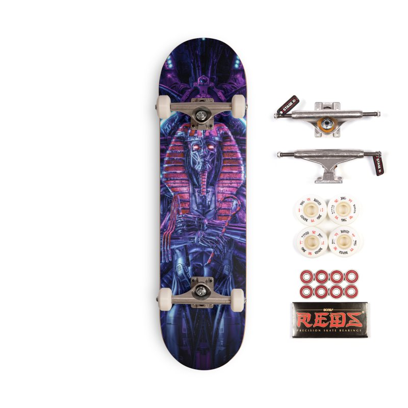 Neo Pharaoh Accessories Complete - Pro Skateboard by Grandio Design Artist Shop