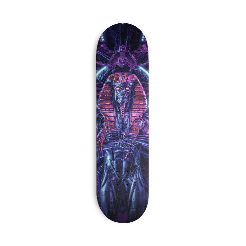 Neo Pharaoh Accessories Deck Only Skateboard by Grandio Design Artist Shop