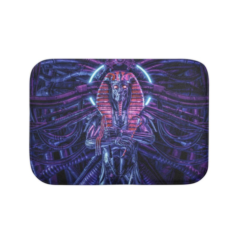 Neo Pharaoh Home Bath Mat by Grandio Design Artist Shop