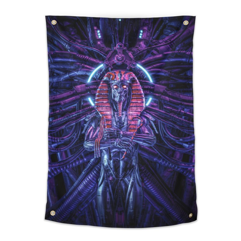 Neo Pharaoh Home Tapestry by Grandio Design Artist Shop