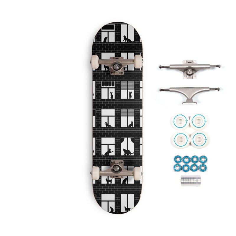Feline Towers Accessories Complete - Basic Skateboard by Grandio Design Artist Shop